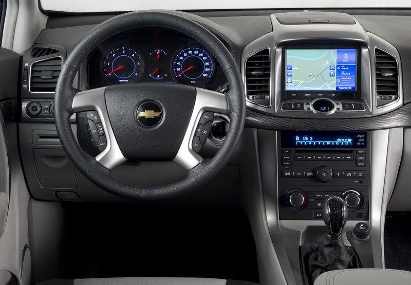 Chevrolet Captiva Fotos