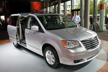 2014 Chrysler Voyager foto